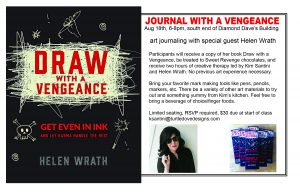 DRAW WITH A VENGEANCE party August 18